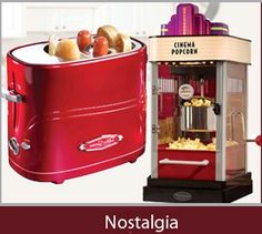 Nostalgic Kitchen Appliances