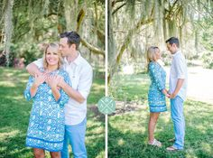 Romantic Charleston engagement photos at Charles Towne Landing by Aaron and Jillian Photography »
