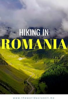 to Hiking in Romania Guide to Hiking in Romania: Plan your hiking trip with these tips on where to go, what to see, and more!Guide to Hiking in Romania: Plan your hiking trip with these tips on where to go, what to see, and more! Europe Destinations, Europe Travel Guide, Travel Guides, Travelling Europe, Traveling, Europe Packing, Travel Expert, Backpacking Europe, Visit Romania