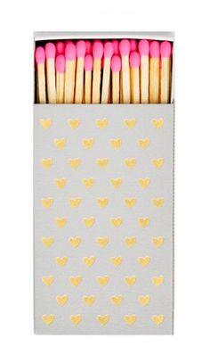 Gold Foil Printed Matchbox