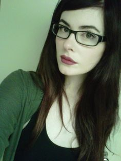 fair skin with glasses:)