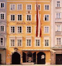 Mozarts Geburtshaus - Information und Bilder vom Museum