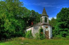 Old, abandoned church in Amelia County, VA