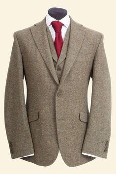 Moss Shetland Donegal Tweed    Edward Jacket    Walker Slater Tweed Specialists