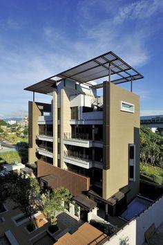 #architecture : Ritz Plaza Housing Complex / Chin Architects