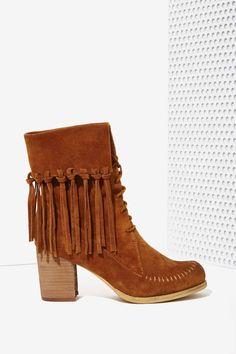 Sbicca Wagon Suede Bootie - Heels | Nasty Gal