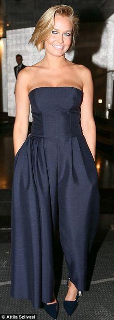 Lara Bingle in Dior - At a Rolex event in Sydney. (July 2014)