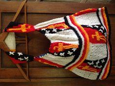 Papua New Guinea Bilum Woven String Bag
