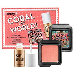 Benefit Cosmetics - Coral My World!