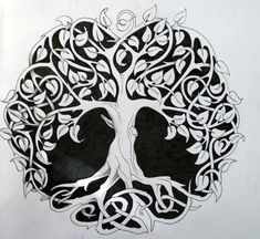 The Celts' Tree of Life - similar to the Norse Yggdrasil