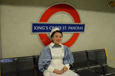 An Olympic opening ceremony nurse catches the tube home
