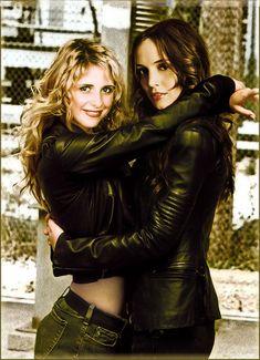 Buffy & Faith - buffy-vs-faith Fan Art