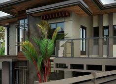 Two Storey House Inspiration Complete with Interior Designs - House And Decors Online Architecture, Architecture Magazines, Architecture Design, Amazing Architecture, House Roof, Facade House, Facade Design, Exterior Design, Front House Landscaping