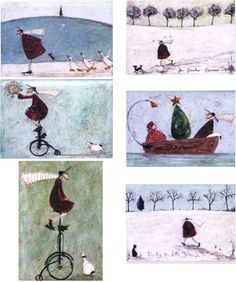 Christmas Cards by Sam Toft