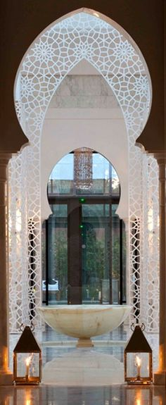 Luxury Spa Hotel Marrakech - Royal Mansour - #Morocco.