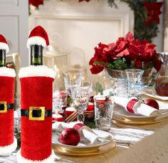 Foto: Porta bottiglia vino di Babbo Natale - Idee regalo per natale