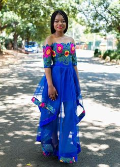 Tsonga Traditional Dresses Designs For Wedding. In the traditional dress makes a woman of elegance. Showing ethnic and unique.One of the tsonga Venda Traditional Attire, Tsonga Traditional Dresses, South African Traditional Dresses, Traditional Dresses Designs, Traditional Wedding Attire, Traditional Fashion, African Wedding Attire, African Attire, African Dress