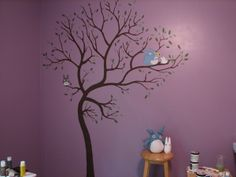totoro nursery!!! Almost exactly what I want!!