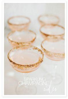 sparkling champagne cider