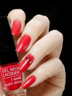 IsaDora Gel Nail Lacquer Scartlet Red