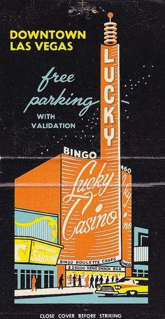 Lucky Casino, Las Vegas | #vintagevegas #travel #vegas | http://lasvegastours.onboardtours.com