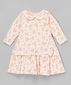Loving this Pink Paisley Peter Pan-Collar Dress - Infant & Toddler on #zulily! #zulilyfinds