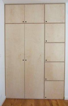 placard Ideas for plywood furniture wardrobe storage Z Mesh, An Innovative F Diy Wardrobe, Wardrobe Storage, Bedroom Wardrobe, Wardrobe Doors, Built In Wardrobe, Closet Storage, Closet Doors, Diy Storage, Plywood Storage