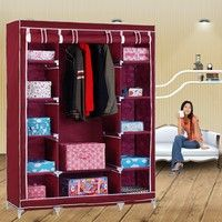 100% Brand New. Light- weight, portable storage space. Twelve shelves included, as well as open clot
