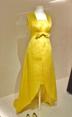 Yellow evening ensemble, Cristòbal Balenciaga, Paris, 1966-67