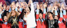 Duas Mulheres e Meia: Veja as apresentações de Beyoncé, Bruno Mars e Col...