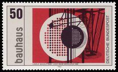 Sello Bauhaus. László Moholy-Nagy