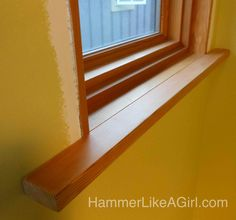 A while back, we published a post about selecting douglas fir lumber from the odd lot section at our local lumber yard to use for window trim. That lumber sat for a while in the basement while we worked on … Continue reading → Window Casing, Door Casing, Douglas Fir Lumber, Interior Styling, Interior Decorating, Craftsman Window Trim, Bungalow Interiors, Wood Putty, Wood Molding