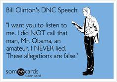 LOL #BillClinton