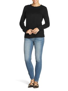 Mix Apparel - Collection - Ribbed Side Vent Jumper