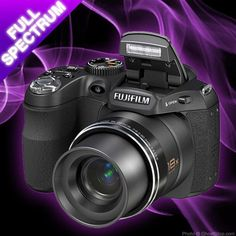 GhostStop Ghost Hunting Equipment - Fuji Full Spectrum Digital Camera IR and UV (infrared and ultravoilet)
