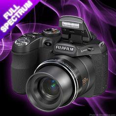 GhostStop Ghost Hunting Equipment - Fuji Full Spectrum Digital Camera IR and UV (infrared and ultravoilet)