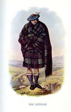 KILT FLASHES TARTAN COLQUHOUN MODERN POINTED HOSE SOCK MADE IN SCOTLAND MENSWEAR