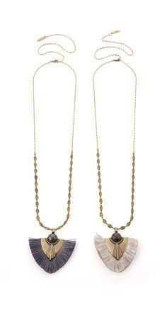 Malala feather necklace | oshan