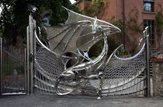 The Dragon Gate of Harlech House, Dublin