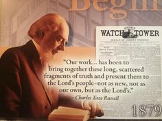 """Jehovah uses faithful, humble people to discern truths, act on them, and do his will. At one time JW's celebrated pagan holidays too, but as they discerned truths in the Bible, they """"cleansed"""" themselves of ideas that Jehovah disapproved of, and we are still learning how to please the Creator...."""