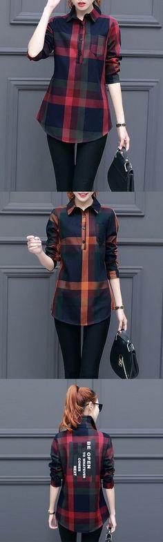 Women's Casual/Daily Simple Fall / Winter Print Shirt