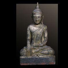Bouddha assis - Birmanie XVIIIeme