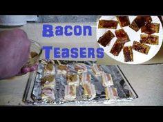 Bacon Brown Sugar Cracker Snacks