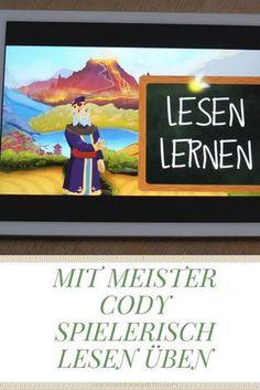 Die Lern-App Meister Cody Namagi und Talasia trainieren Kinder bei Legasthenie und Dyskalkulie- spielerische Leseübungen und REchenübungen für Grundschüler.