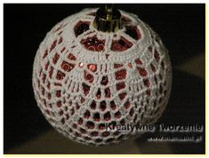   Kreatywne tworzenie Crochet Christmas Ornaments, Christmas Bulbs, Christmas Decorations, Holiday Decor, Crochet Designs, Crochet Patterns, Sampler Quilts, Lampshades, Knit Crochet
