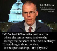 It's no longer about politics. It's not partisanship. It's physics.