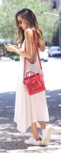 #street #style blanc Wachabuy