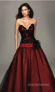 Evening Gown- For those parties and banquets and balls that I never go to