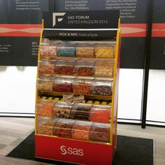 The Sweetstand is at the @vox_conference in Birmingham this week for a corporate event. #sweetstand #picknmix #eventsweets #corporatesweets #voxcentre