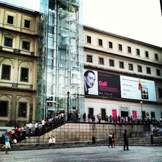 Museo Nacional Centro de Arte Reina Sofía (MNCARS) in Madrid, Madrid